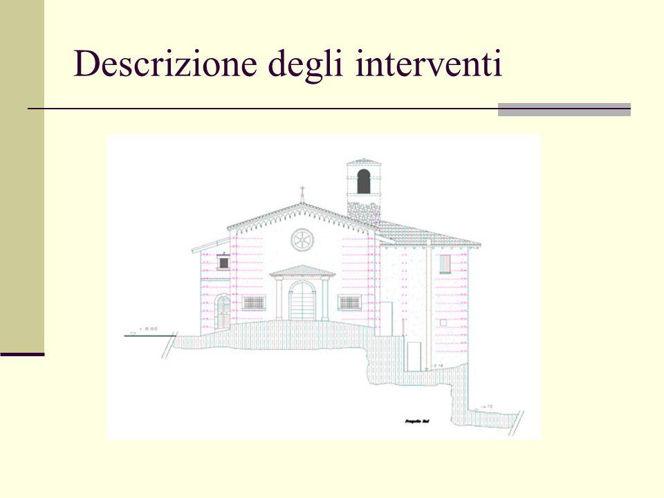 Descrizione degli interventi