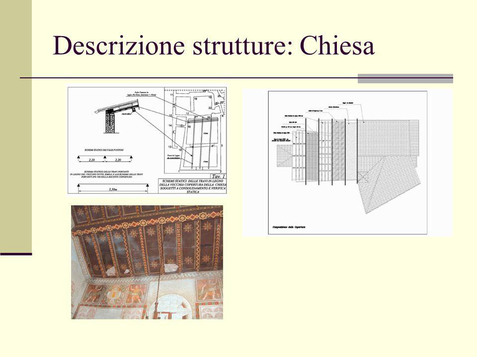 Descrizione strutture: Chiesa