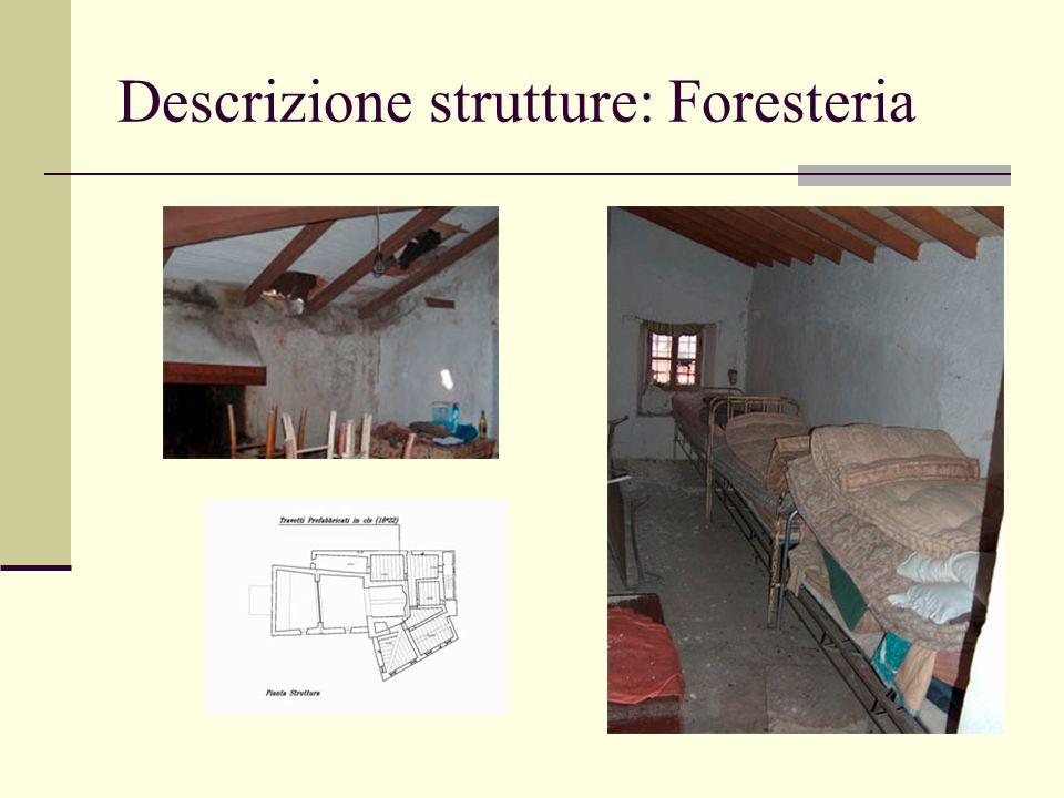 Descrizione strutture: Foresteria