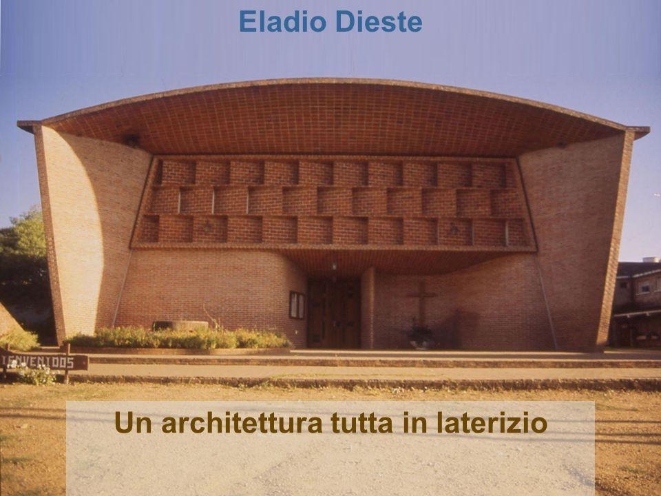 Un architettura tutta in laterizio