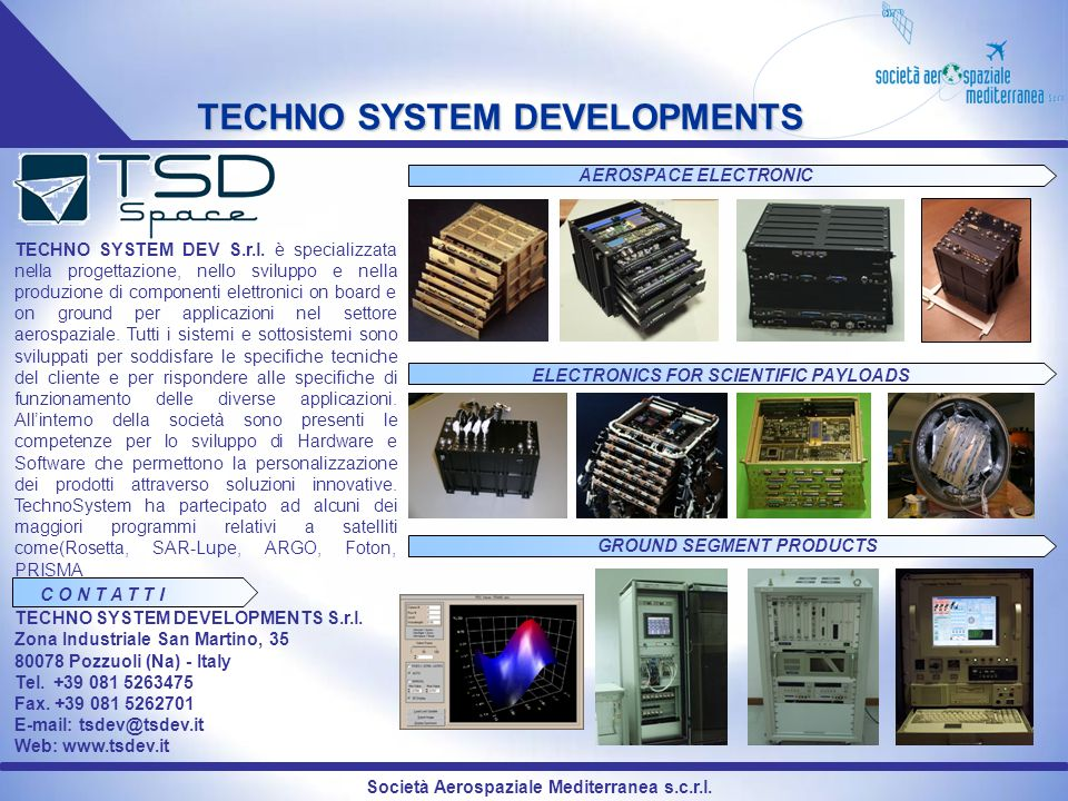 TECHNO SYSTEM DEVELOPMENTS