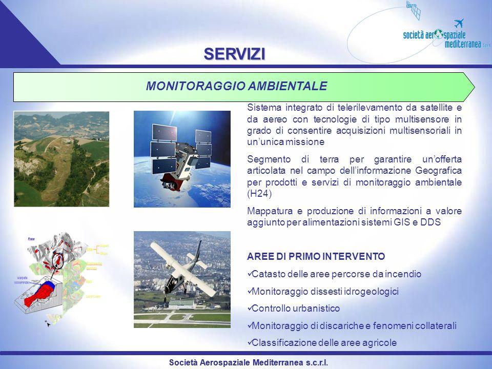 MONITORAGGIO AMBIENTALE Società Aerospaziale Mediterranea s.c.r.l.