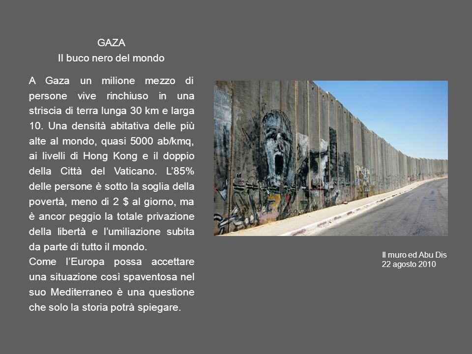 GAZA Il buco nero del mondo