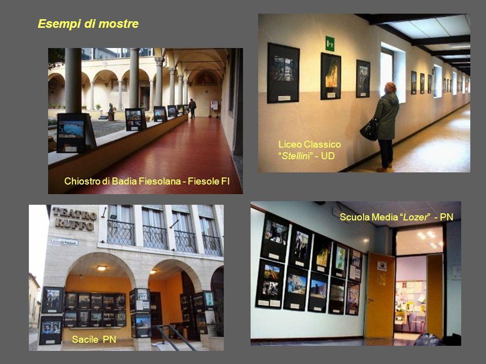 Esempi di mostre Liceo Classico Stellini - UD