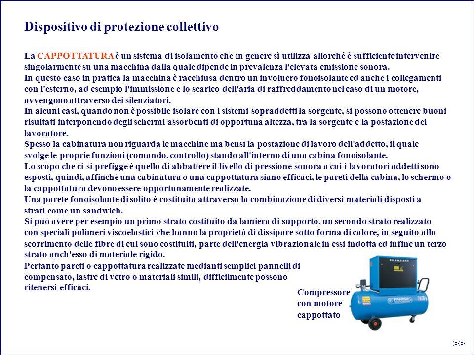 Dispositivo di protezione collettivo