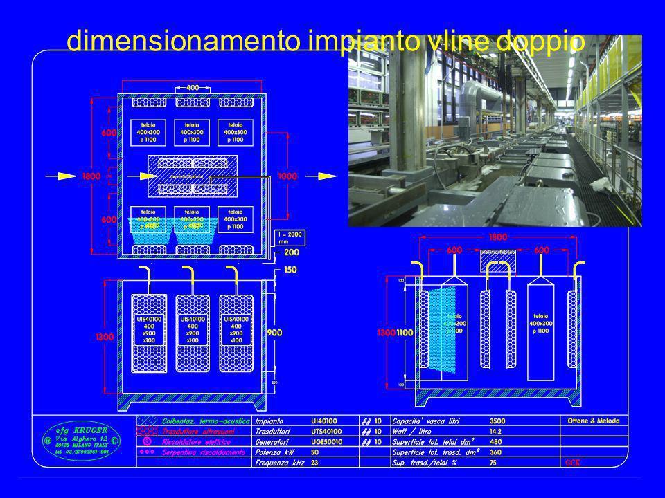 dimensionamento impianto vline doppio
