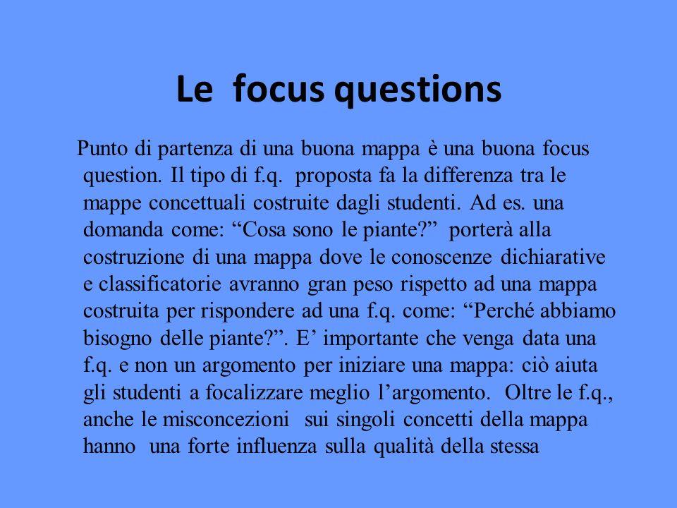 Le focus questions