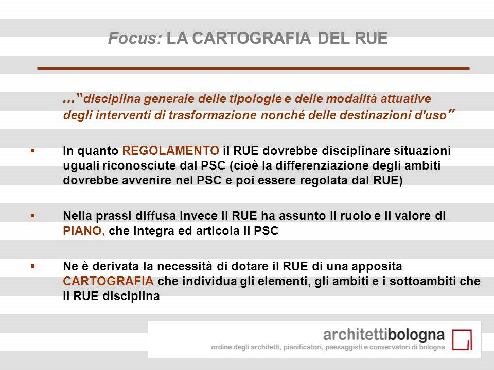 Focus: LA CARTOGRAFIA DEL RUE