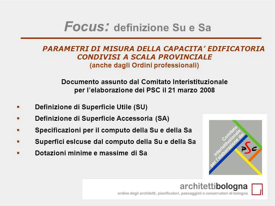 Focus: definizione Su e Sa