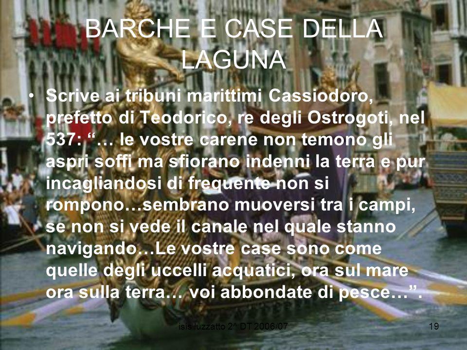 BARCHE E CASE DELLA LAGUNA
