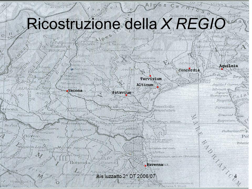 Ricostruzione della X REGIO