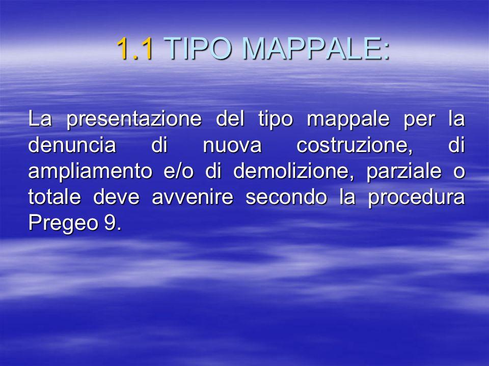 1.1 TIPO MAPPALE:
