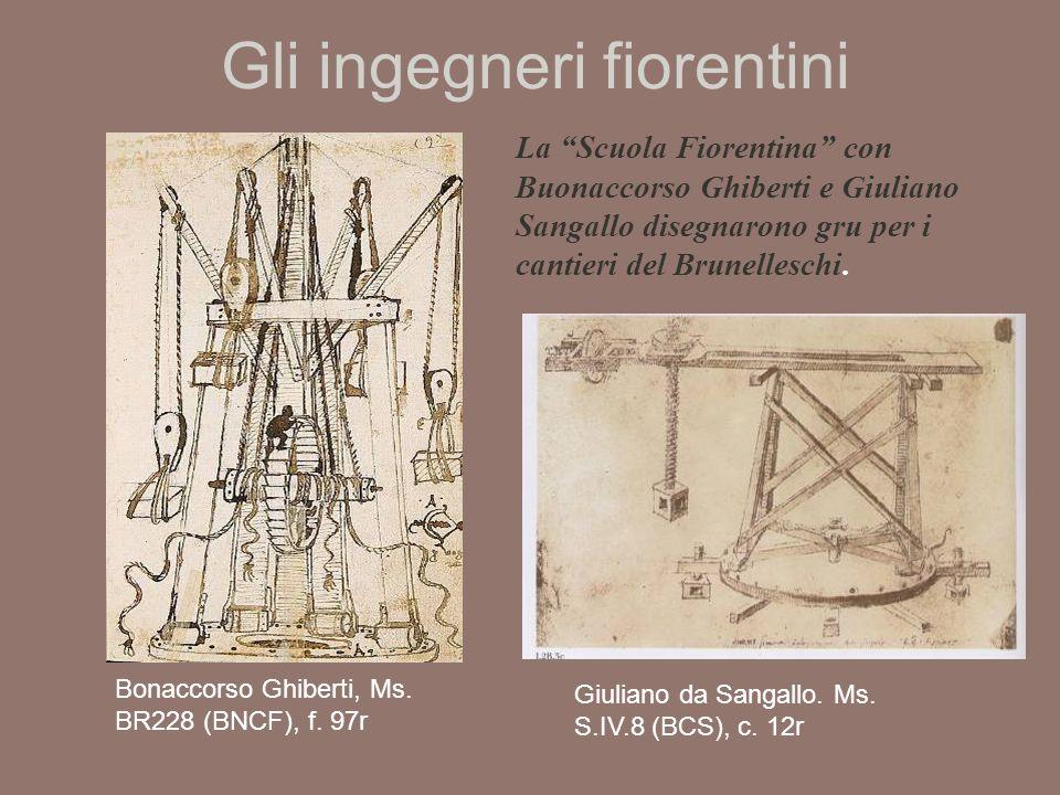 Gli ingegneri fiorentini