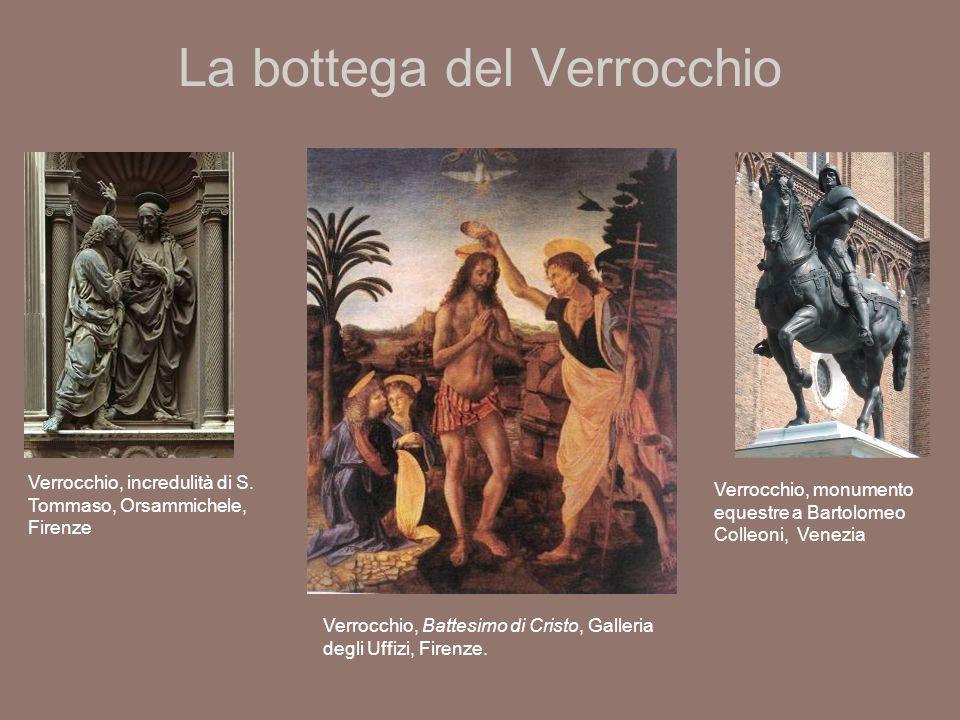 La bottega del Verrocchio