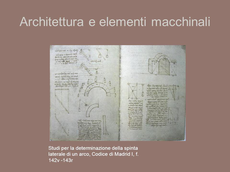 Architettura e elementi macchinali