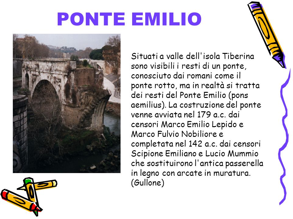 PONTE EMILIO