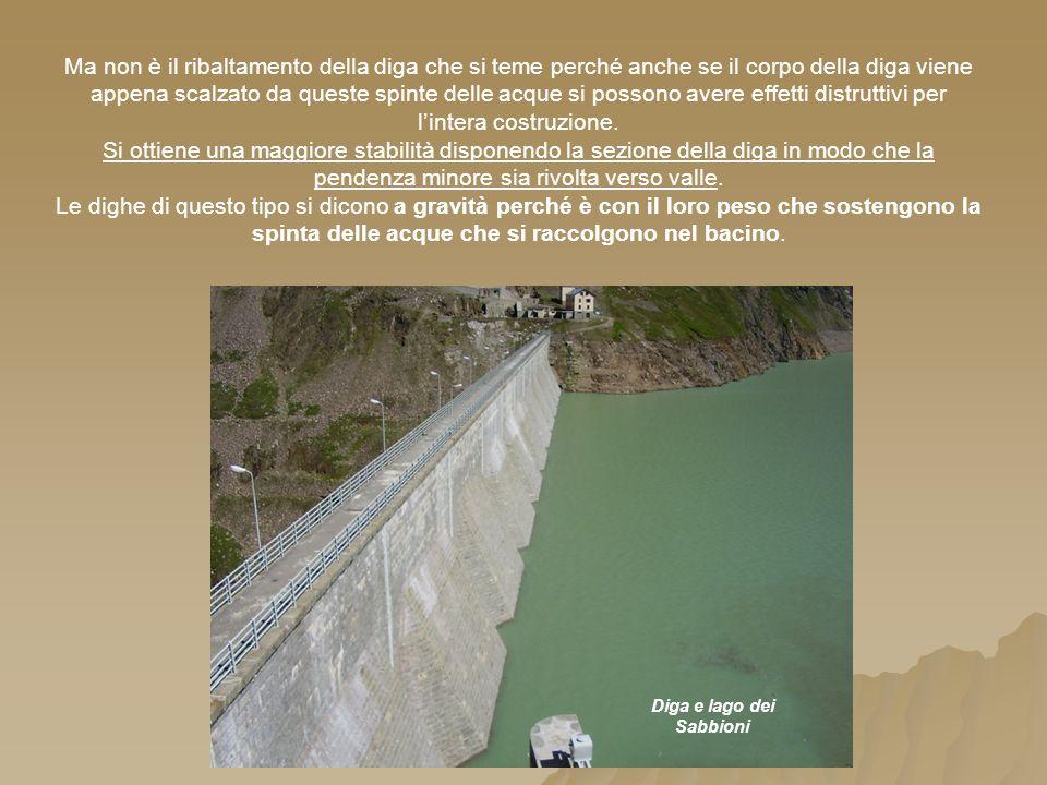 Diga e lago dei Sabbioni