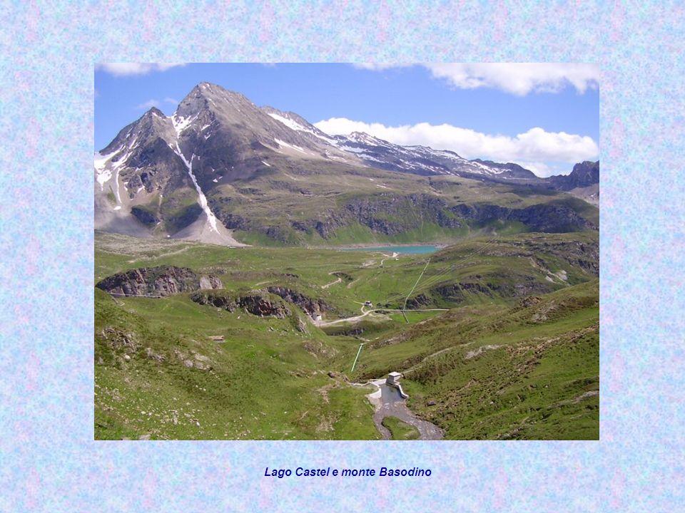 Lago Castel e monte Basodino