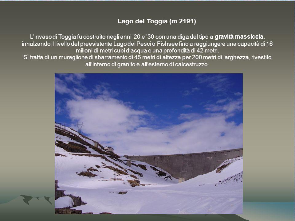 Lago del Toggia (m 2191)