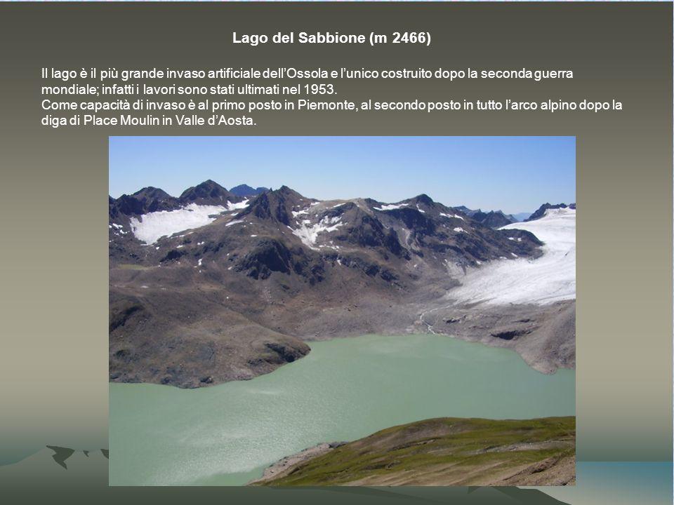 Lago del Sabbione (m 2466)