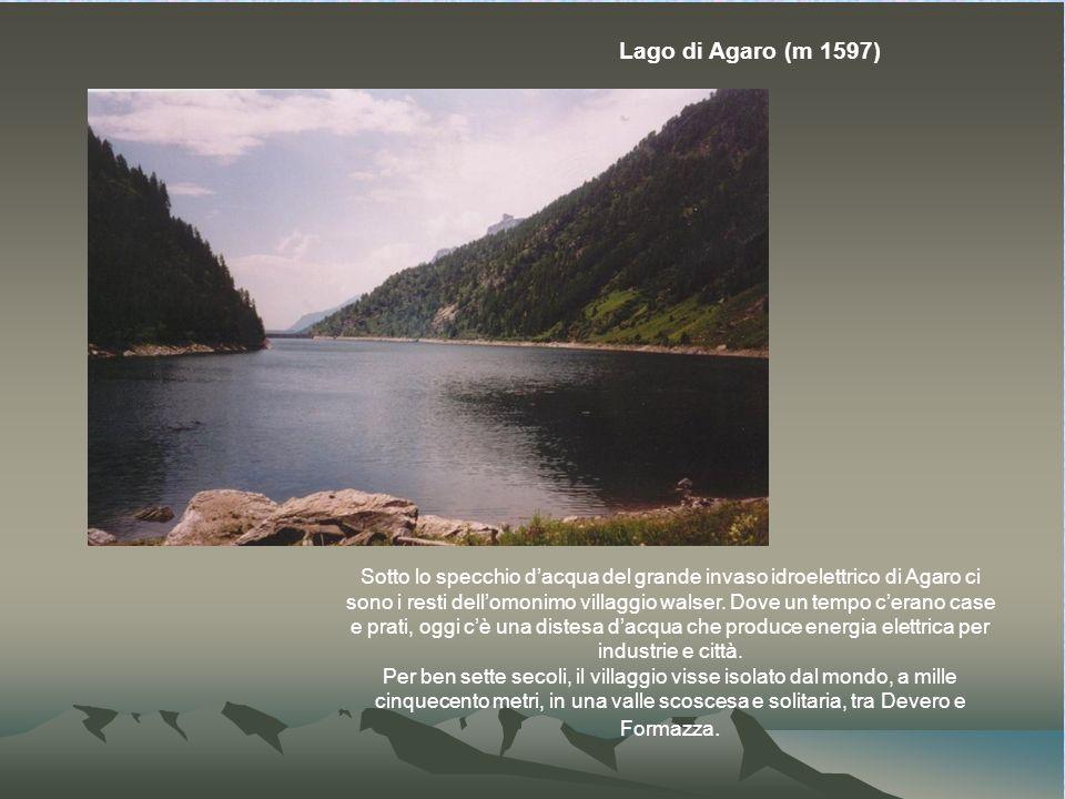 Lago di Agaro (m 1597)