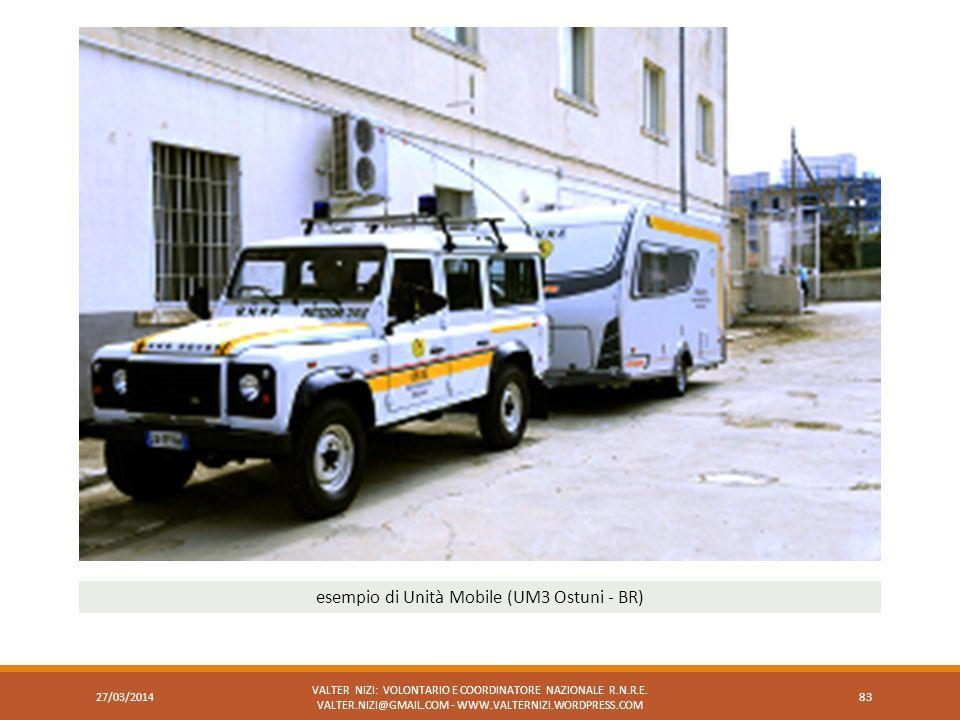 esempio di Unità Mobile (UM3 Ostuni - BR)