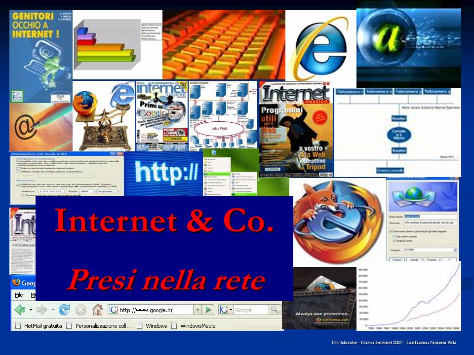 Internet & Co. Presi nella rete