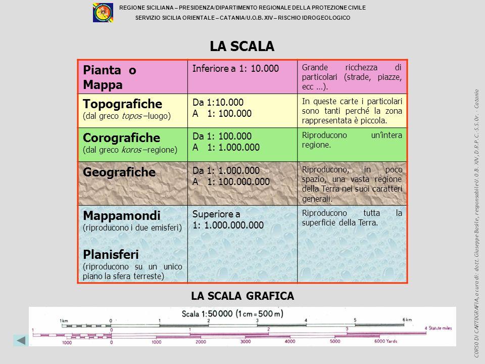 LA SCALA Pianta o Mappa Topografiche Corografiche Geografiche