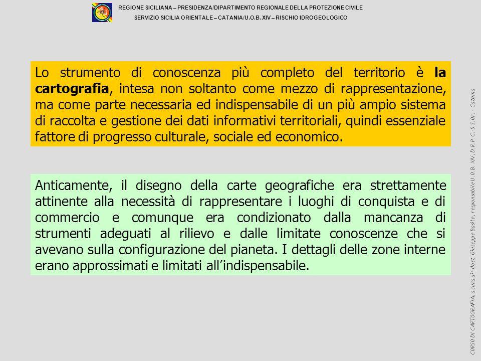 REGIONE SICILIANA – PRESIDENZA/DIPARTIMENTO REGIONALE DELLA PROTEZIONE CIVILE