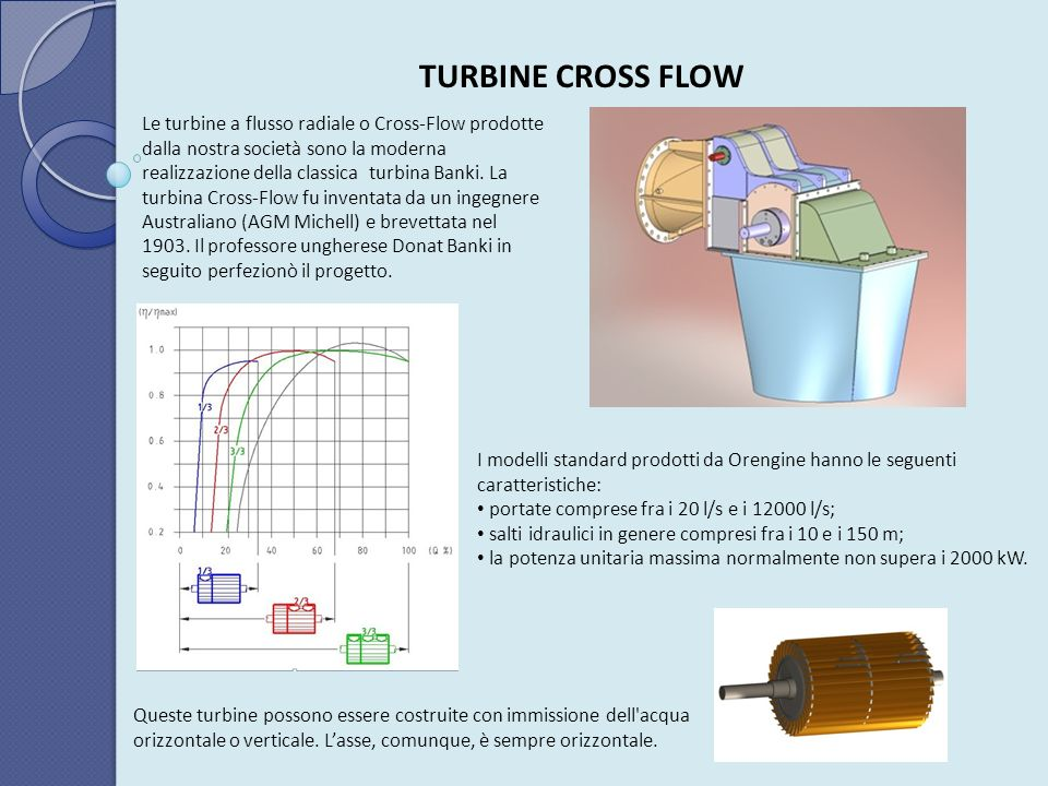 TURBINE CROSS FLOW