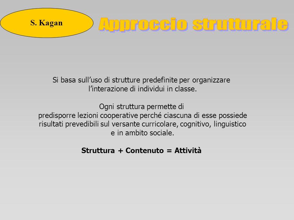 Struttura + Contenuto = Attività