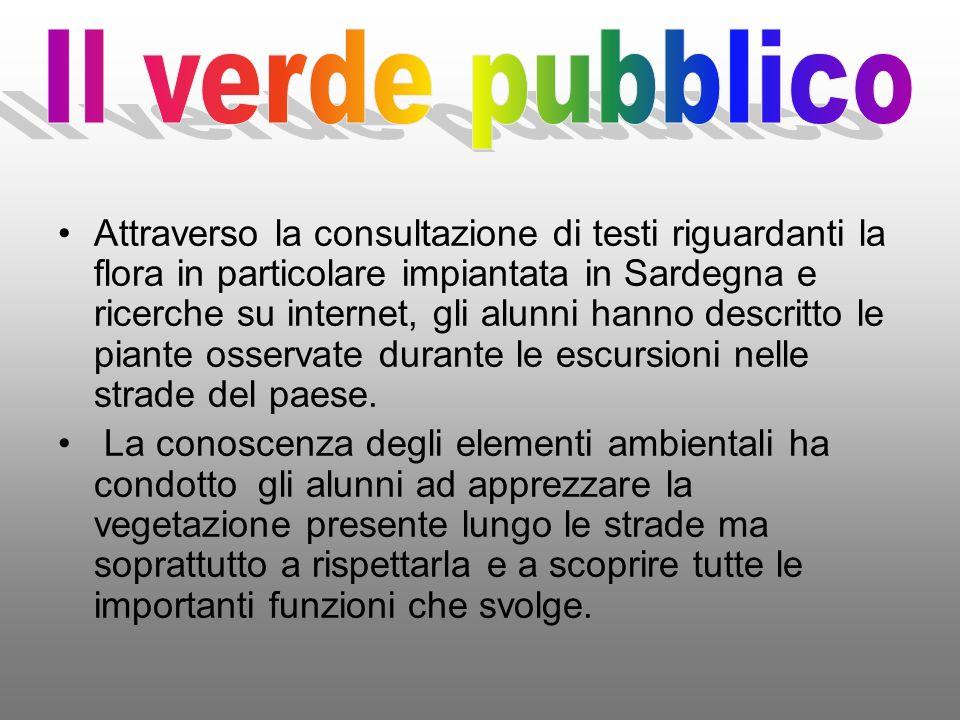 Il verde pubblico