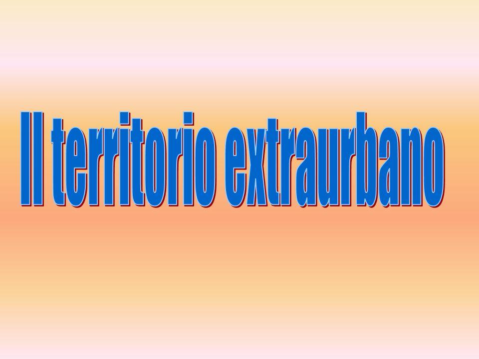 Il territorio extraurbano