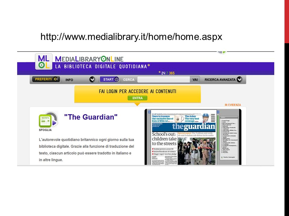 http://www.medialibrary.it/home/home.aspx