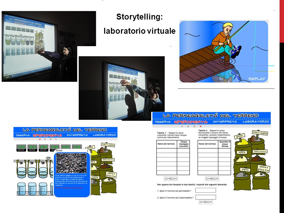 Storytelling: laboratorio virtuale