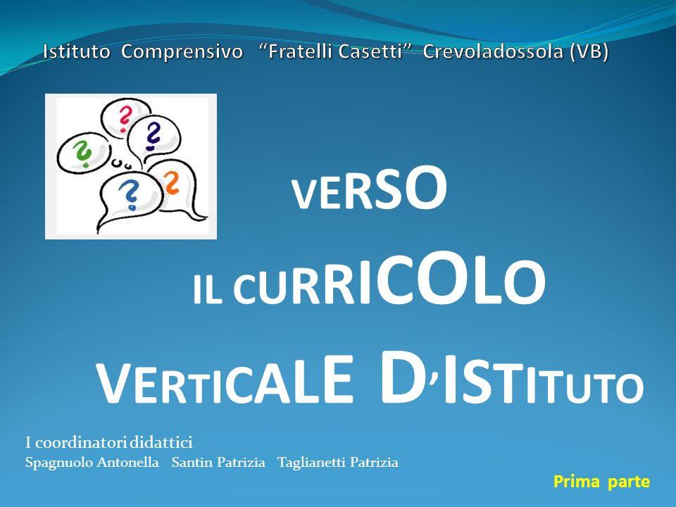 Istituto Comprensivo Fratelli Casetti Crevoladossola (VB)