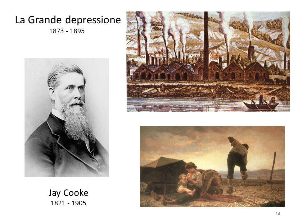 La Grande depressione 1873 - 1895 Jay Cooke 1821 - 1905