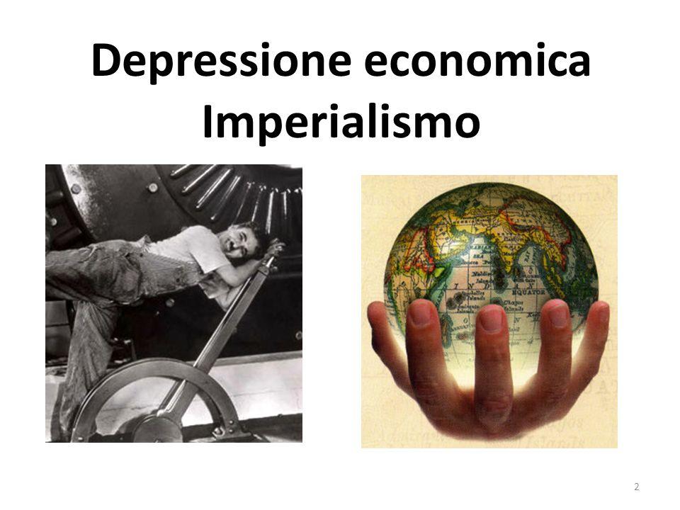 Depressione economica Imperialismo