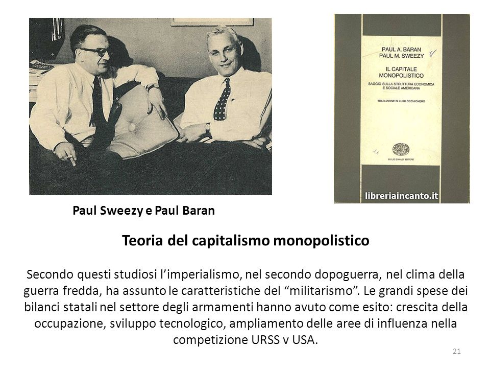Teoria del capitalismo monopolistico