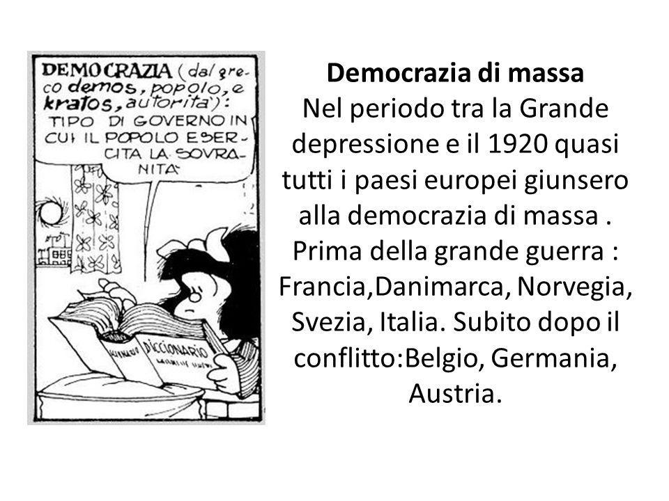 Democrazia di massa
