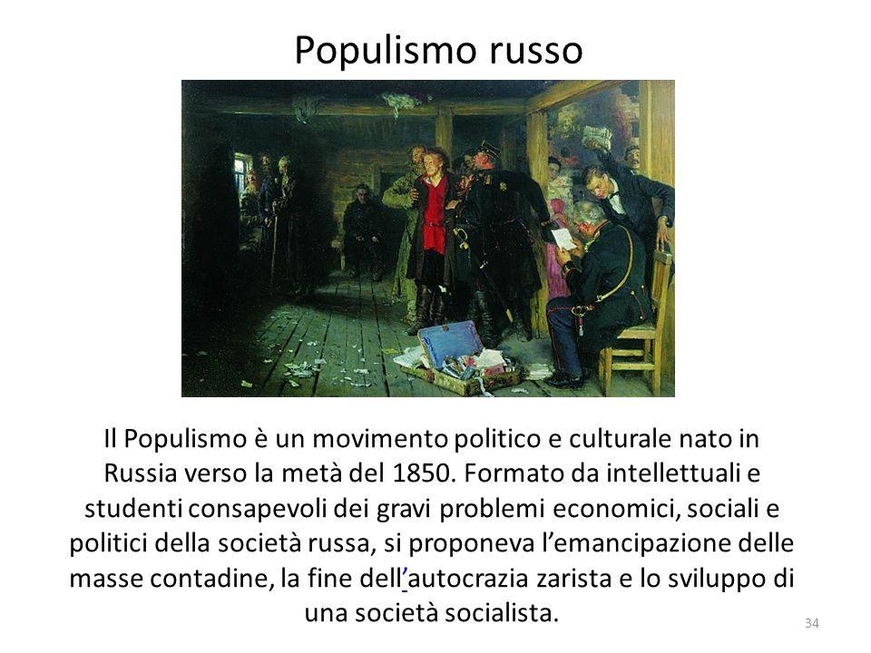 Populismo russo