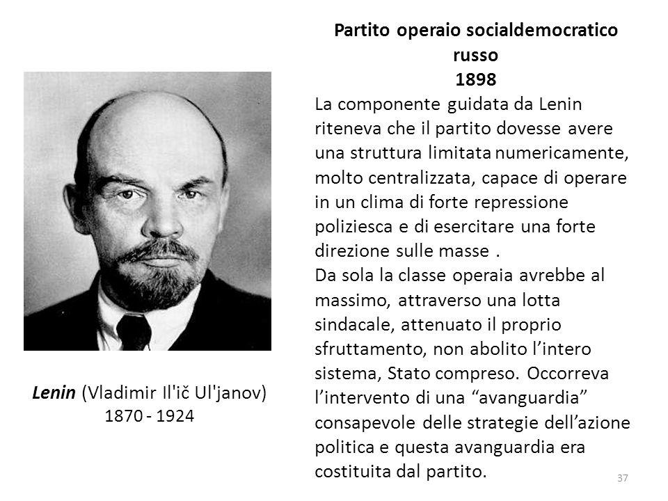 Partito operaio socialdemocratico russo