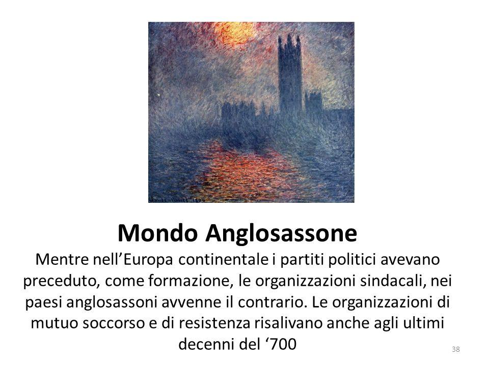 Mondo Anglosassone