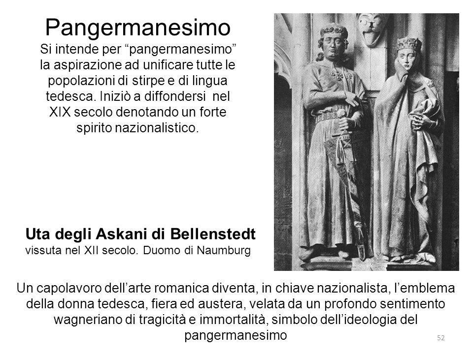Pangermanesimo Uta degli Askani di Bellenstedt