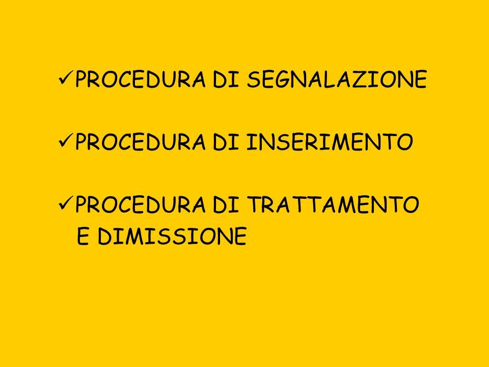 PROCEDURA DI SEGNALAZIONE