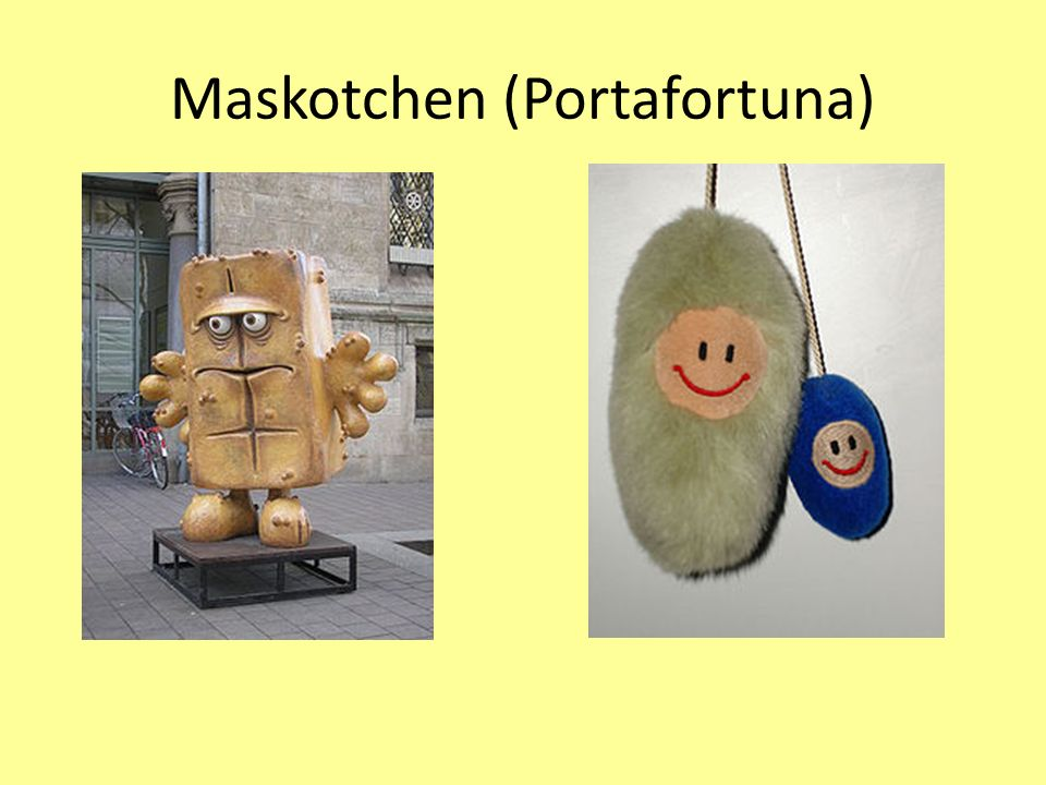 Maskotchen (Portafortuna)