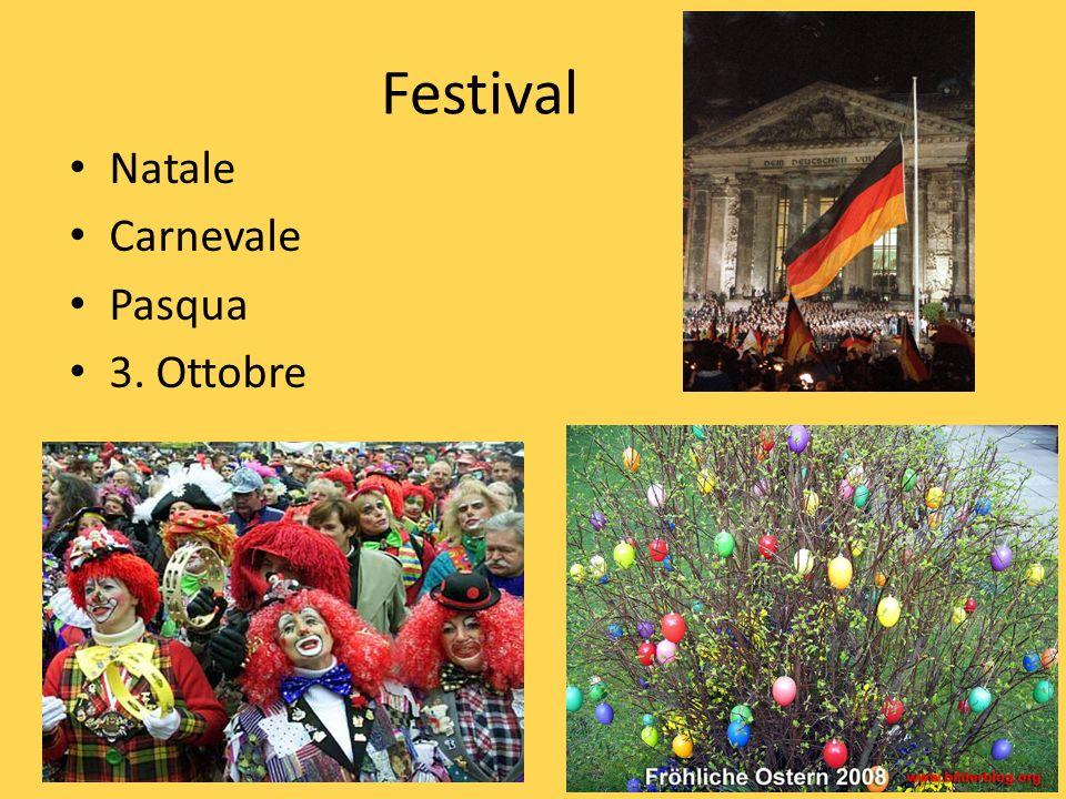 Festival Natale Carnevale Pasqua 3. Ottobre