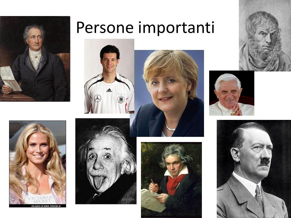 Persone importanti