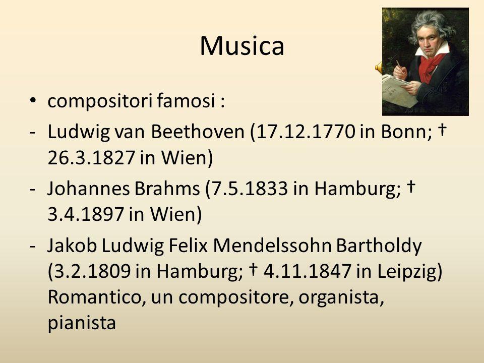 Musica compositori famosi :