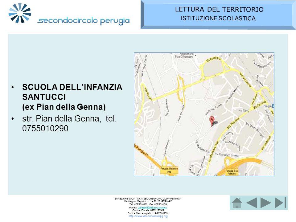 SCUOLA DELL'INFANZIA SANTUCCI (ex Pian della Genna)